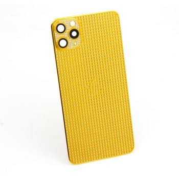 Callancity New Style Full Diamonds Replacement Case Housing Compatible for Iphone 13Mini/13/13Pro/13ProMax Phone Cover