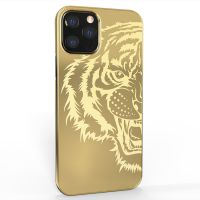 Callancity 24kt Gold Plated Replacement Housing Phone Case For Iphone 13Mini/13/13Pro/13ProMax Luxury Custom Design Mobile Phone Cover