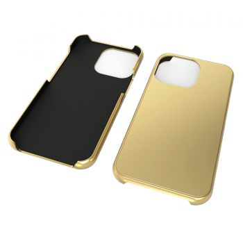Callancity Custom Design 24kt Gold Plated Phone Case Protective Cover for Iphone 13Mini/13/13Pro/13ProMax