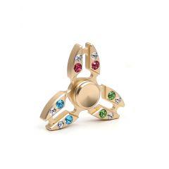 diamond fidget finger spinner