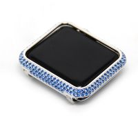 Apple watch 38mm 42mm blue crystal bezel series 3,2,1