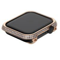 apple watch 4 diamond bezel case 44MM Rose Gold Crystal