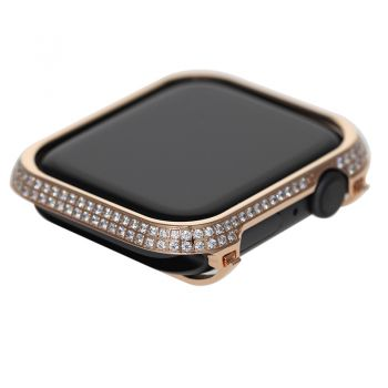 apple watch 4 diamond bezel case 44MM Rose Gold Crystal
