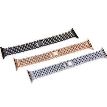 Crystal Apple Watch Series1,2,3 bands with stainless steel
