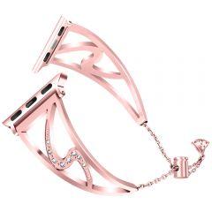 Watch wrist for apple watch 38mm 40mm 42mm 44mm strap Bracelet compatible for smart watch series 1/2/3/4/5