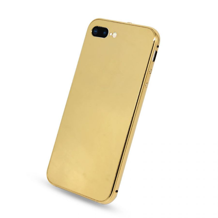 super popular 9461d 5dc69 Luxury 24k Gold Plated Housing Back Cover for iPhone 7Plus