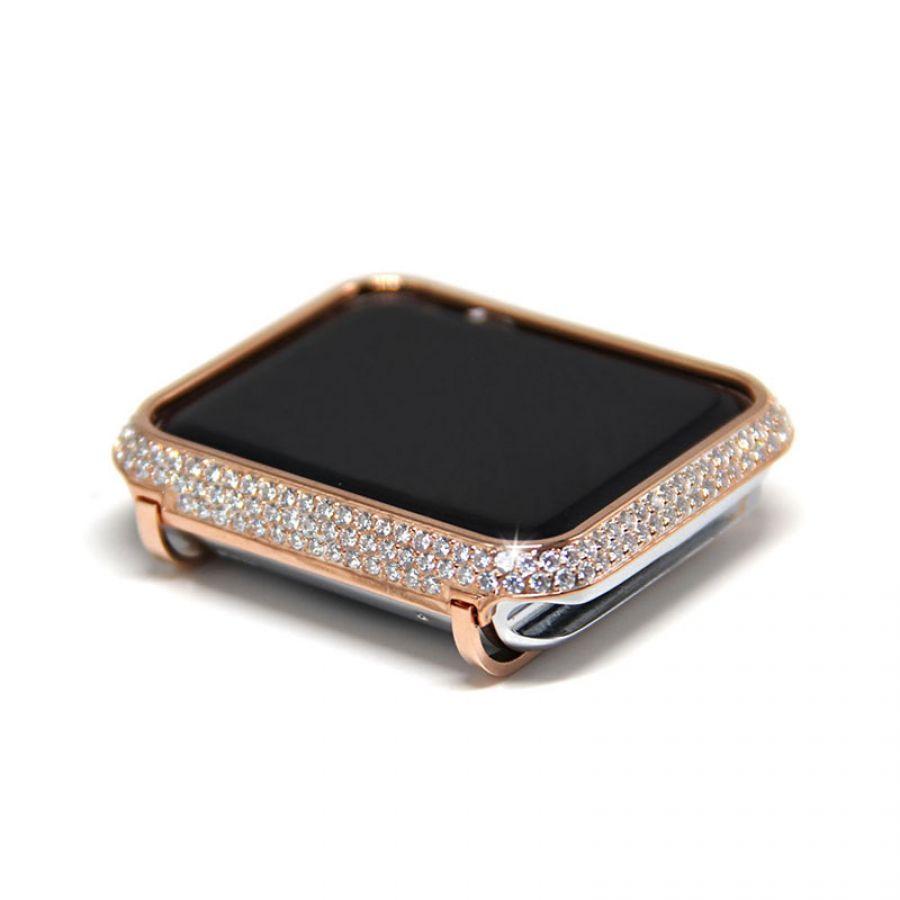 Permalink to Apple Watch Diamond Bezel Case