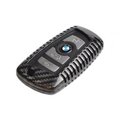 Carbon Fiber Remote Key Cover Case for BMW 1 2 3 4 5 6 7 Series X3 X4