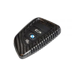 Carbon Fiber Remote Keyless Protection Case Cover for BMW X5 X6
