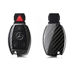 Carbon Fiber Keyless Remote Fob Shell Case for Mercedes-Benz S Class, SLS AMG ,SLR Class