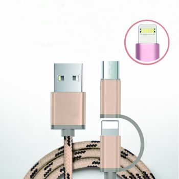 Multi Charger USB Cable 3 in 1 Multifunctional Univers