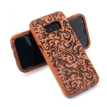 Samsung Galaxy S8 Bamboo Sculpture Cover Protective Shell