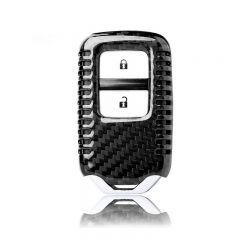 Carbon Fiber Remote Flip Key Cover Case fit Honda Civic HRV Accord