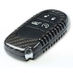 Luxury Carbon Fiber Keyless Protection Case Cover For Jeep