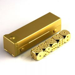 Lucky 24K Gold Made Custom 6 sided Dice