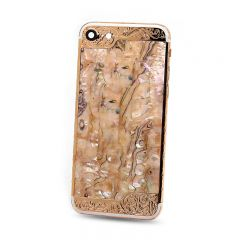 HOT SALE CNC Custom Mother Of Pearl Shells Housing For Iphone 7