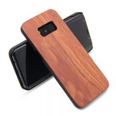 Original Natural Wooden Wood Bamboo Case Cover Shell For Samsung Galaxy S8