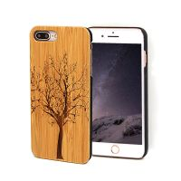 Top Quality Wood Engraved Protective Cases for iPhone 8 plus