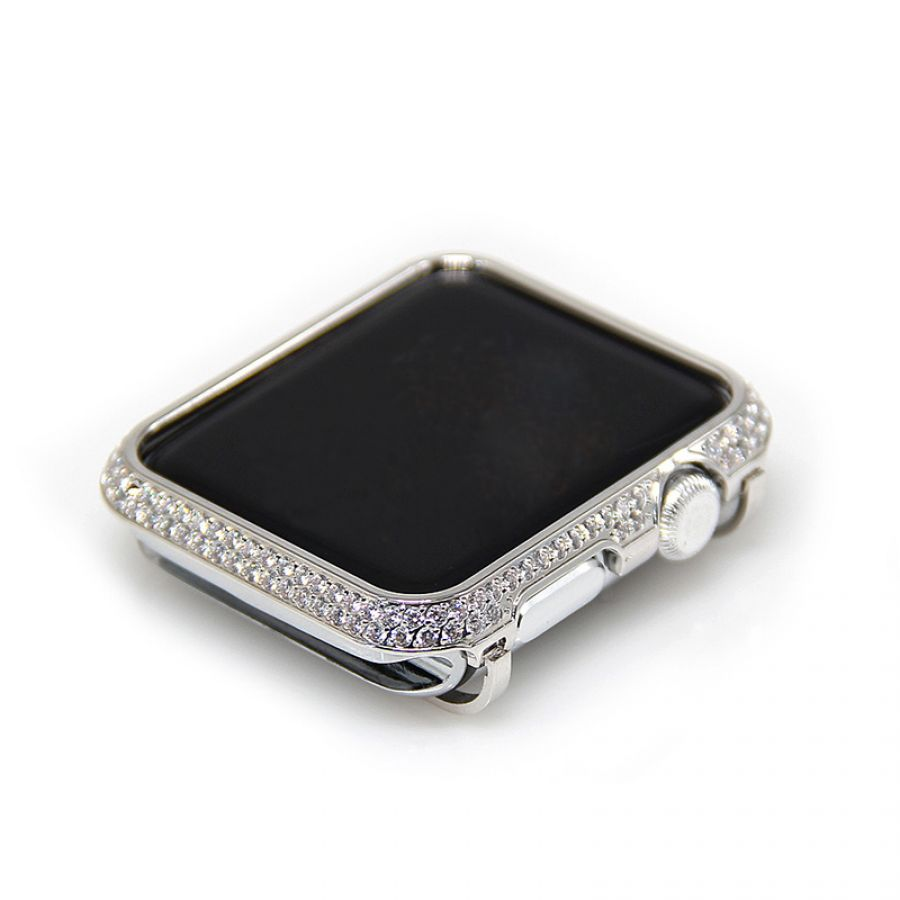 check out 0437d 40058 Crystal Diamonds Apple Watch 1 2 3 cover Housing Case Bezel