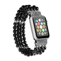 Womens Beads Jewelry Strap Bracelet Band for Apple Watch iWatch