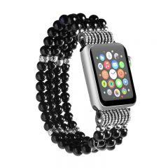Womens Beads Jewelry Strap Bracelet Band for Apple Watch iWatch