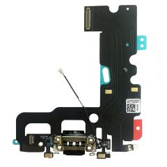 USB Lightning Charging and Headphone Jack port Dock Connector + Mic Flex Cable + Cellular Antenna Replacement for Iphone 7