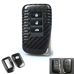 Carbon Fiber Keyless Car Shell Case Cover Holder for Lexus GS LX RX GX