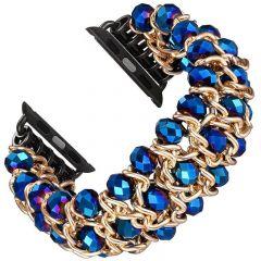 Fashion bracelet wristband for Apple watch watch blue