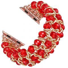 Fashion bracelet wristband for Apple watch watch red