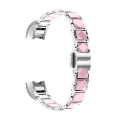 Metal Bracelets Watch Strap Wristband Bands For Fitbit Alta pink