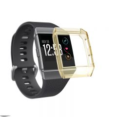Soft protective cover case for Fitbit ionic watch gold