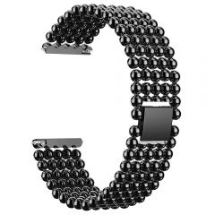 Replace Wrist Band Metal Bracelet Strap For Fitbit Versa black