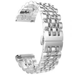 Stainless Steel Wristband for Fitbit versa silver