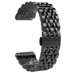 Stainless Steel Wristband for Fitbit versa black