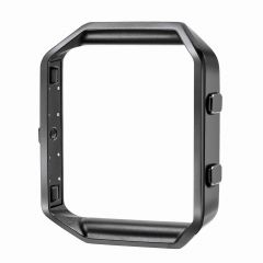 Fashion Metal bumper cover for fitbit blaze watch black