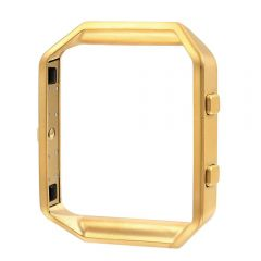 Fashion Metal bumper cover for fitbit blaze watch gold