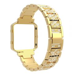 Luxury and elegance diamond band for Fitbit blaze gold