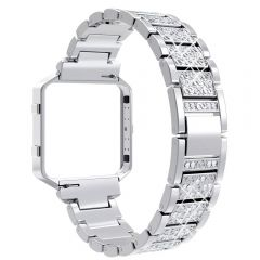 Luxury and elegance diamond band for Fitbit blaze platinum