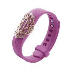 Beautiful and classic bling charm metal part for Fitbit Flex 2 rose