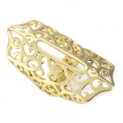 Simple and classic bling charm metal part for Fitbit Flex 2 gold