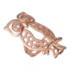 Special and classic bling charm metal part for Fitbit Flex 2 rose
