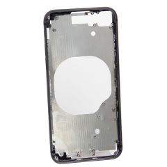 Metal color plated middle frame for iphone 8 4.7 inch Black