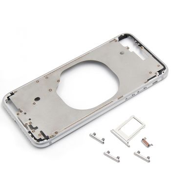 Platinum color metal middle frame case for iPhone 8  4.7inch