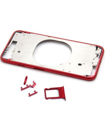 Hot Red color metal middle frame case for iPhone 8  4.7inch