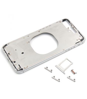 Platinum color metal middle frame case for iPhone 8 plus 5.5