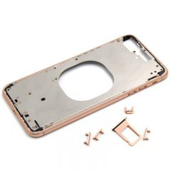 "Metal color plated middle frame for iphone 8 plus 5.5"" Rose"