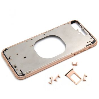 Rose color metal middle frame case for iPhone 8 plus 5.5""