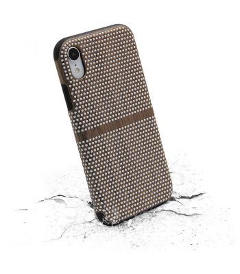 New arrival Non-slip protect phone case for iphone X brown