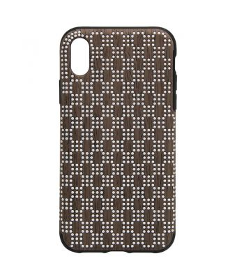 Best Selling Non-slip protect phone case for iphone X brown