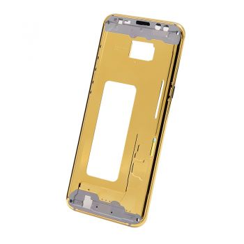 Luxury Samsung S8 Plus 24kt gold plated middle frame